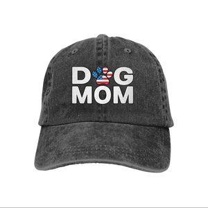 Splash Brothers Dog Mom Vintage Jeans Baseball Hat